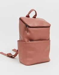 Matt And Nat Brave Backpack In Clay Grey