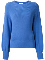 H Beauty And Youth Loose Fit Jumper Blue