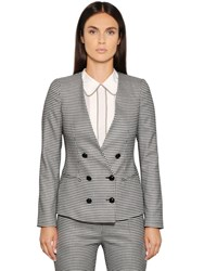 Emporio Armani Stretch Houndstooth Jacket