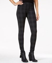 Sanctuary Printed Skinny Leggings Abbey Plaid