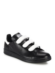Raf Simons Stan Smith Grip Tape Leather Shoes Black