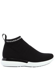 Salvatore Ferragamo 30Mm Caprera Sock Knit Sneakers