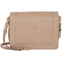 Jerome Dreyfuss Igor Small Messenger Beige Tan