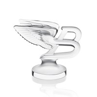 Lalique Clear The Flying B Paperweight