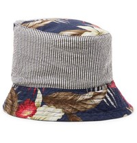 Engineered Garments Patchwork Printed Cotton Bucket Hat Multi