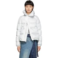 Sacai Grey Down Puffer Jacket