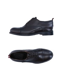 Cavallini Lace Up Shoes Dark Brown