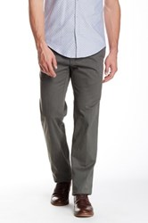 Peter Millar Raleigh Flat Front Washed Pant Gray