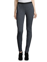 Eileen Fisher Herringbone Slim Fit Pants Charcoal