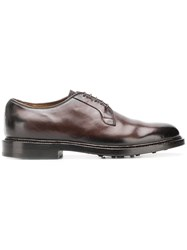 Officine Creative Stanford Derby Shoes Brown