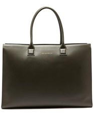 Want Les Essentiels Dresden Leather Tote Bag Grey
