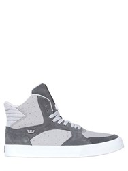 Supra Vaider 3000 Suede And Nubuck Sneakers