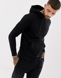 Pull And Bear Pullandbear Hoodie In Black