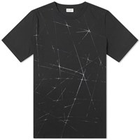 Saint Laurent Galaxy Tee Black