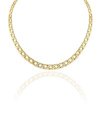Vita Fede Mini Milos Chain Link Necklace Gold