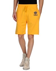Franklin And Marshall Trousers Bermuda Shorts Men Yellow