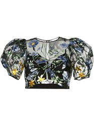 Alice Mccall Some Kind Of Beautiful Crop Top Black