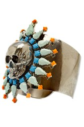 Tom Binns Skull Coloured Cuff Multi