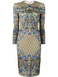 Givenchy Paisley Print Dress Multicolour