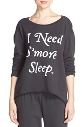 Women's Junk Food 'I Need S'more Sleep' Sweatshirt