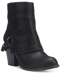 Fergalicious Liza Cuffed Booties Women's Shoes