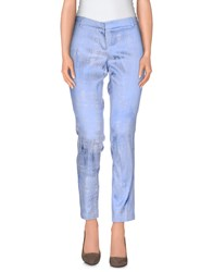 Chlotilde Trousers Casual Trousers Women Sky Blue