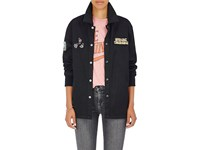 Opening Ceremony Women's Love Stings Cotton Coach's Jacket Black
