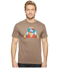 Marmot Hew Tee Short Sleeve Brown Heather Men's T Shirt