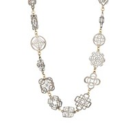Judy Geib Casino Royale Collar Necklace Gold