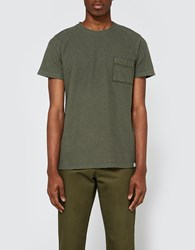 Norse Projects Niels Japanese Pocket In Olive