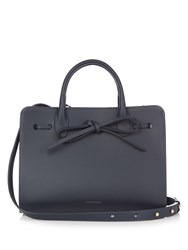 Mansur Gavriel Mini Sun Leather Tote Navy