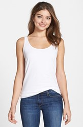 Petite Women's Nic Zoe 'Perfect' Scoop Neck Tank