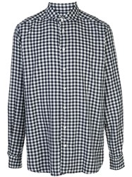 Eton Gingham Check Print Shirt 60