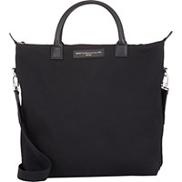 Want Les Essentiels Men's O'hare Shopper Tote Black Blue Black Blue