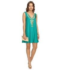 Lilly Pulitzer Owen Dress Agate Green Women's Dress