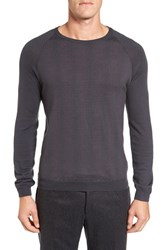 Pal Zileri Men's Neat Dot Merino Wool Crewneck Sweater