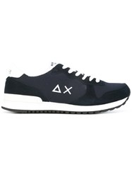 Sun 68 Lace Up Sneakers Blue