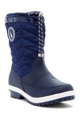 Nautica Beecher Faux Fur Boot Blue