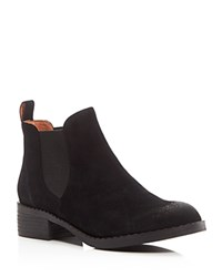 Gentle Souls Binx Chelsea Booties Black