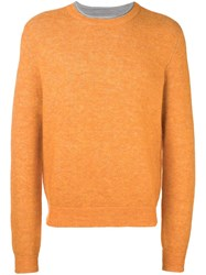 3.1 Phillip Lim Crew Neck Jumper Yellow And Orange