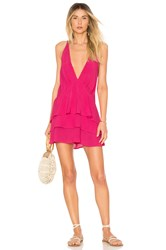 Beach Riot X Revolve Maya Dress Fuchsia