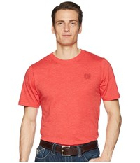 Cinch Short Sleeve Jersey Tee Heather Red T Shirt Pink