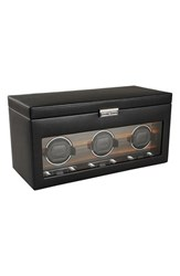 Wolf Roadster Triple Watch Winder And Case