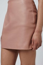 Leather Mini Skirt By Boutique Pink