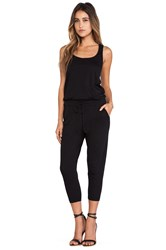Bobi Supreme Jersey Long Romper Black