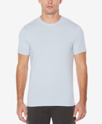 Perry Ellis Men's Classic Fit T Shirt Light Blue