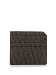 Saint Laurent Monogram Print Cardholder Black Multi