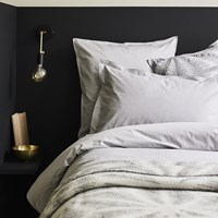 Murmur Chambray Duvet Cover Dove Grey