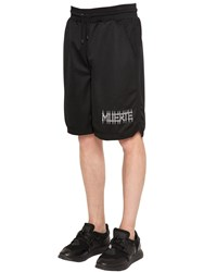 Marcelo Burlon Orlando Triacetate Mesh Shorts