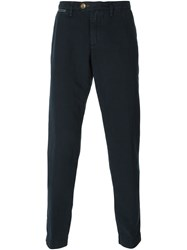 Eleventy Chino Trousers Blue